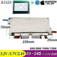8S ~ 24S Ant 스마트 BMS 블루투스 DIY LiFePO4 리튬 이온 50A/80A/100A/110A/120A With Android BlueTooth APP