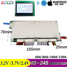 8S Tot 24S Mier Smart Bms Bluetooth Diy LiFePO4 Lithium Ion 50A/80A/100A/110A/120A Met Android Bluetooth App