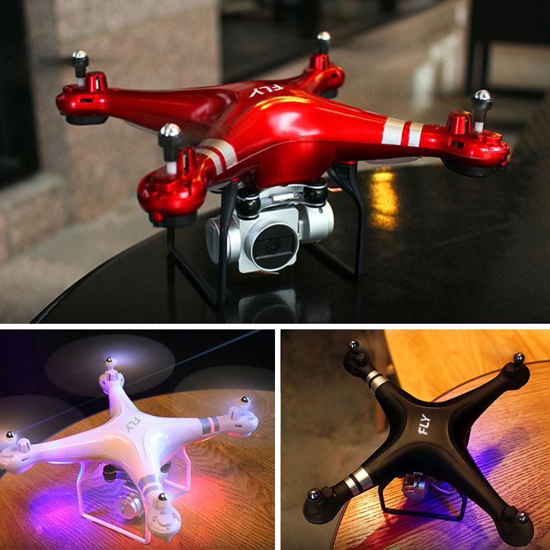 SH5 HD 4-Axis Aircraft WiFi Altitude Hold NAS HR Remote control Wide angle 120 ° RC Quadcopter Drone X Pro RTF Dron For Gift image
