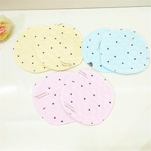 2Pcs Reusable Breast Pad Nursing Pads for Mum Mothers Absorbent Washable Waterproof Feeding Nipple Pads Pregnant Supplies(China)