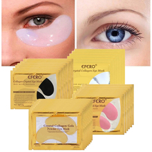 Gold Masks Crystal Collagen Eye Mask Gel Eye Patches for Eye Bags Anti-Wrinkle Remove Black Eye Cream Care Face Masks