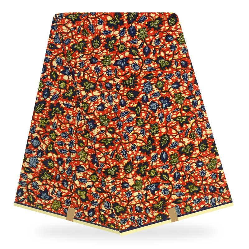 African fabric Real Wax Prints Fabric cotton Nigerian Women Dress Fabrics For Wedding sewing material 6yard