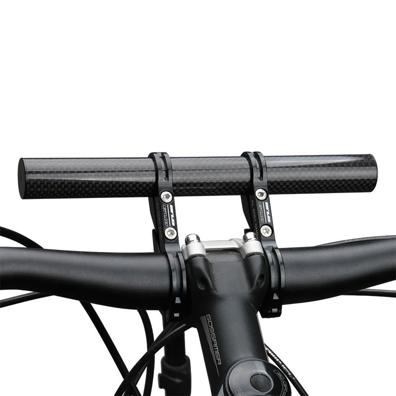 GUB 31.8MM Carbon Fiber Bike Bicycle Handlebar Extender Double Clamp Super Long