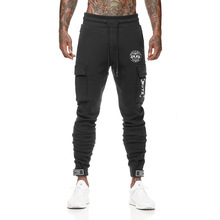 2019 new streetwear  summer fashion mens brand pants casual jogger bodybuilding fitness sweatpants