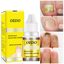 Травяная Сыворотка для удаления грибка ногтей oedo онихомикоз