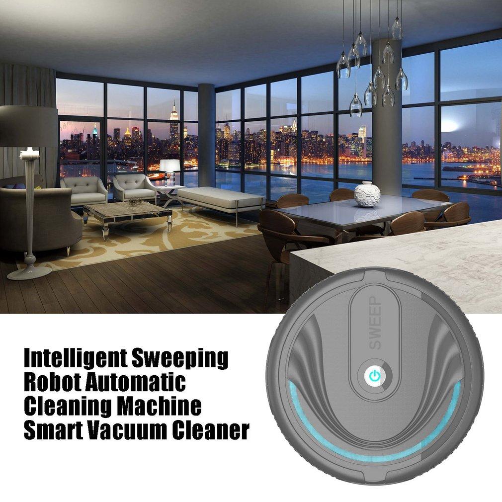 Купить с кэшбэком Intelligent Sweeping Robot Home Automatic Cleaning Machine Lazy Smart Vacuum Cleaner Mopping Machine Mini