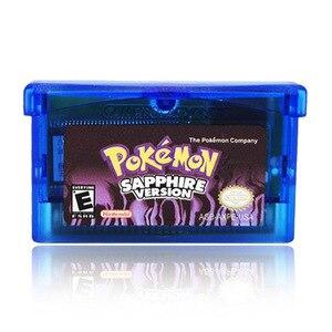32 бит картридж для видеоигр консоль карта для Nintendo GBA Pokemon серия глазурованная Snakewood Flora EnglishLanguageThe первое издание