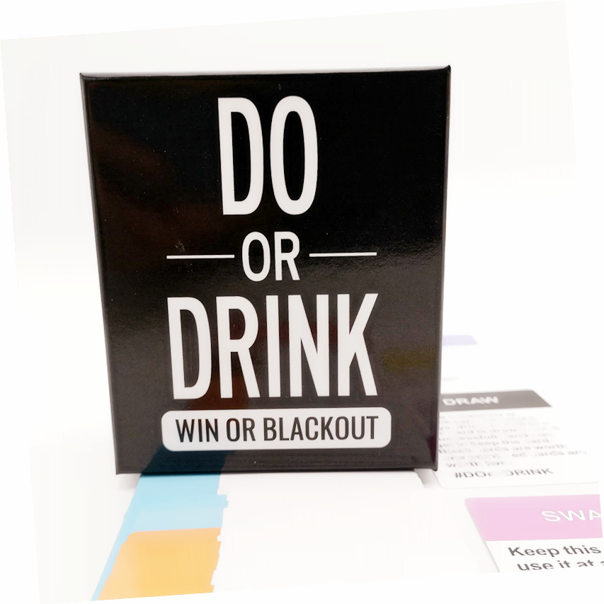 DO OR DRINK Hot New Cross-Border New Game Card Game