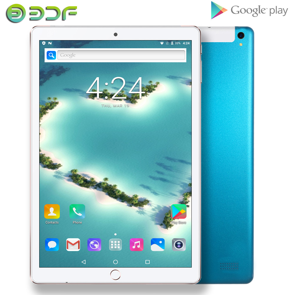 10 Inch New 2.5D Toughened Glass Tablet Pc Android 7.0 WiFi GPS Bluetooth 3G Phone Call Google Play CE Brand Tablets 2GB+32GB