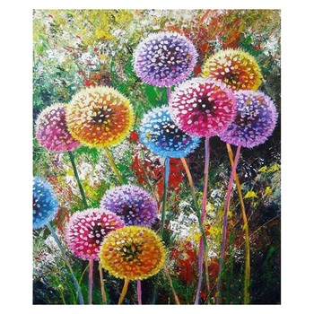 DIY 5D Diamond Painting Flowers Dandelion Kits Full Drill Paintings Pictures Arts Craft For Home Wall Decor