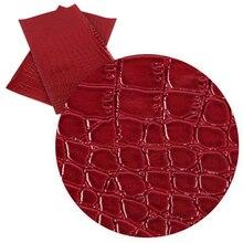 20*34 см геометрические узоры простые цветные листы из искусственной кожи для изготовления сережек Сумочка чехол для телефона, 1Yc6406