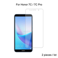 2pcs For Huawei Honor 7C Pro / Honor 7C Tempered Glass Screen Protector For Huawei Honor 7C Pro Protective Glass 2pcs for huawei honor 7c pro honor 7c full cover tempered glass screen protector protective glass for huawei honor 7c pro