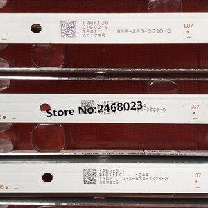 Image 2 - 3 adet/grup için 43L1600C 2600C 43L26CMC L43E9600 JL.D43081330 140FS M E469119 8 lambalar 755mm