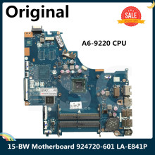 CPU Laptop Motherboard Hp Pavilion 924720-601 LA-E841P AMD for 15-BW CTL51/53 DDR4