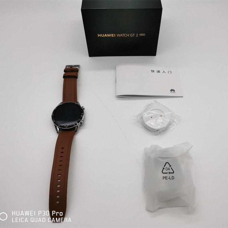 In stock Global Version HUAWEI Watch GT 2 GT2 Smart Watch Blood Oxygen SmartWatch 14 Days Phone Call Heart Rate Tracker 5