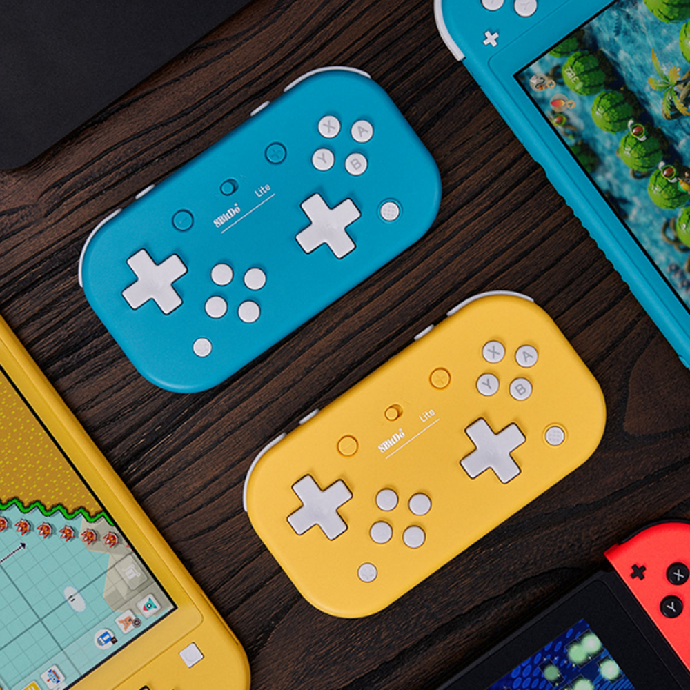For 8BitDo Lite Wireless Bluetooth Controller Gamepad Joystick for Tetris 2D Game for Nintendo Switch Lite /Windows /Steam image