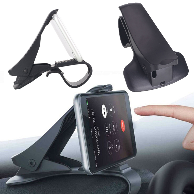 Vehemo 6.5 Inch HUD Dashboard Mount Phone Folder GPS Convenient Stand Phone Car For Navigation Clamp Universal Support Mobile
