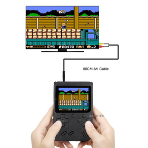 Image 5 - Retro Portable Mini Handheld Game Console 500mAh Battery 3.0 Inch Color LCD Kids Color Game Player Built in 400 Games