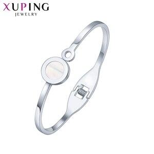 Xuping модные ювелирные изделия элегантный браслет с родиевым цветным покрытием с изысканным высоким качеством для женщин Подарки M103.1-50024