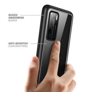Image 5 - Voor Huawei P40 Case (2020 Release) supcase Ub Stijl Slim Anti Klop Premium Hybrid Beschermende Tpu Bumper + Pc Clear Cover Case