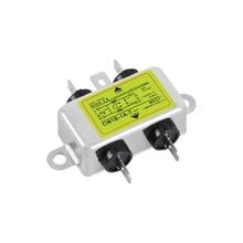 AC очистки 220 В однофазный фильтр питания EMI анти-помех очистки аудио CW1B-T(B2) 1A3A6A10A