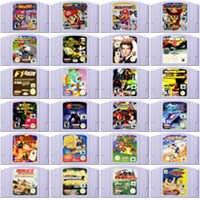 64 Bit Cartuccia Del Video Gioco Console di Giochi di Carta Eur Versione Pal per Nintendo