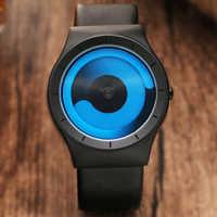 Уникальный дизайн виниловые минималистичные креативные часы Новые Стильные Спортивные кварцевые наручные часы для мужчин и женщин Relogio ...