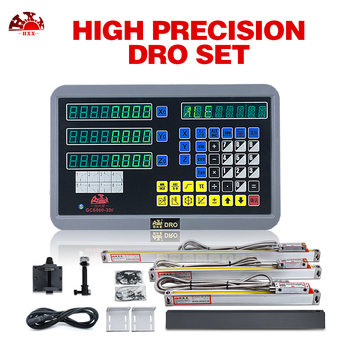 Specially Used For Lathes DRO Set 3 Axis Digital Readout GCS900-3D/ And 3Pcs 5u Linear Scales