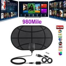 Novo 980 milhas alcance antena tv digital hd skywire 4k antena digital indoor hdtv 1080p dropshipping