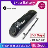 EU Stock Original Upgrade External Battery 187Wh for Ninebot ES1 ES2 ES4 for Kickscooter Hoverboard Skateboard Extra Battery kit