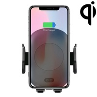 C10 Infrared Sensing Automatic Car Air Outlet Bracket Qi Standard Wireless Charger 10W Fast Wireless Charging Phone Holder