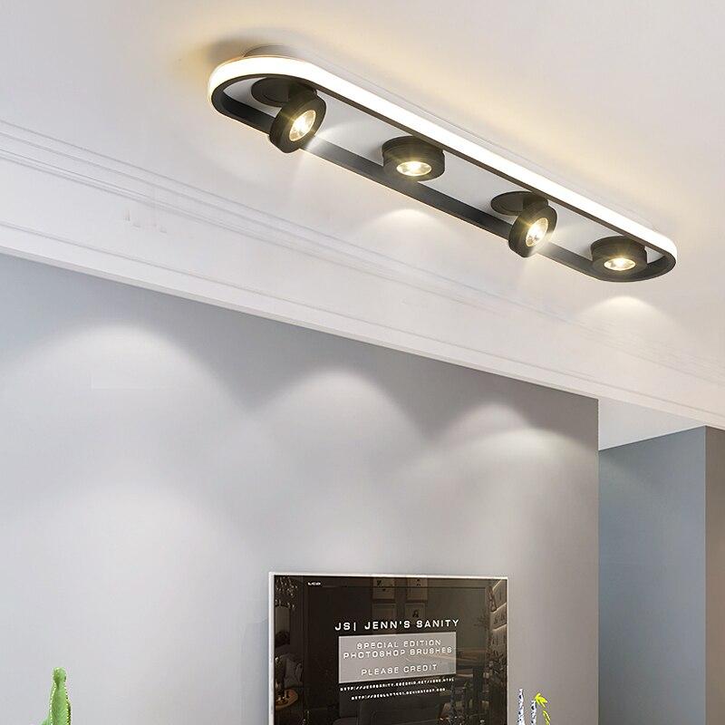 Luces led simples para pasillo, lámpara para balcón, luces de techo para pasillo, Vestíbulo moderno y creativo para sala de estar, porche, dormitorio, lámpara de techo