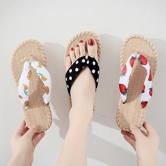 Womens Casual Flat Flip-Flops