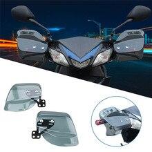 รถจักรยานยนต์Hand Guard Handguard Shield Windproofรถจักรยานยนต์Universalเกียร์ป้องกันสำหรับสกู๊ตเตอร์สำหรับBMW R1200GSสำหรับMajesty 250