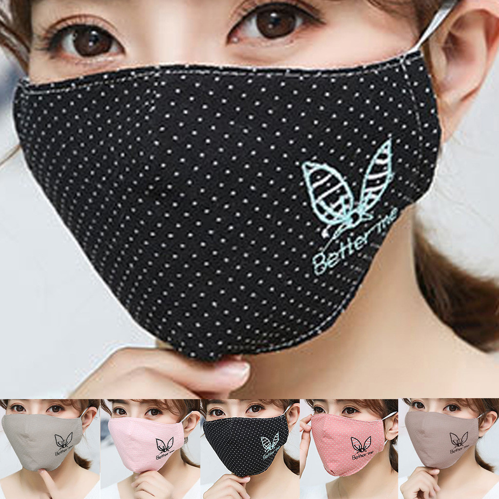 Fashion Safety Protection Face Mask Couple Seamless Outdoor Riding Quick-drying Dustproof Keep Warm Non Woven Masks
