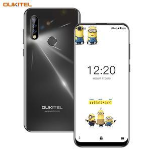 Image 3 - OUKITEL C17 Android 9.0 Smartphone 6.35 Face ID Fingerprint 4G Mobile Phone Triple Camera MT6763 Octa Core 3GB 16GB 3900mAh