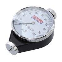 Tipo um verificador da dureza do medidor 0-100ha da dureza para o durômetro da costa de borracha com ferramentas de medição da caixa