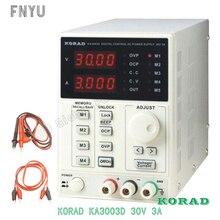 цена на Korad KA3003D 30V 3A Adjustable  Precision Variable DC Regulated power supply Digital Regulated Laboratory power supply