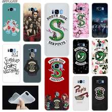Case Voor Samsung S6 S7 Rand S8 S9 S10 S11 Plus Fundas Coque Zachte TPU Back Cover Note 8 9 10 Pro Riverdale Southside Serpent(China)