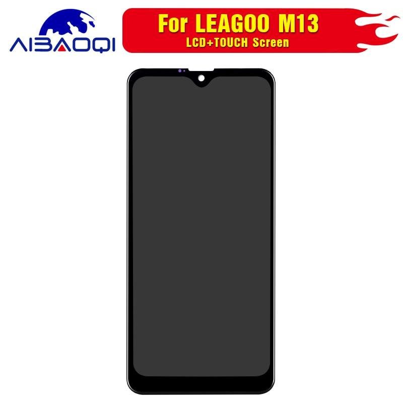 Image 2 - Новый оригинальный Сенсорный экран ЖК дисплей Дисплей ЖК дисплей Экран для Leagoo M13 Запчасти для авто + инструмент для демонтажа + 3 М клейЭкраны для мобильных телефонов   -