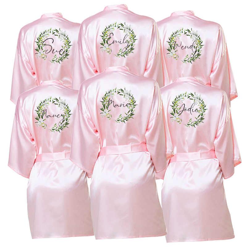Kustom & Bridesmaid Jubah Proposal Pertunangan Hadiah Pengantin Jubah Pernikahan Gaun Pesta Gaun Ibu dari Pengantin Pria/Bride jubah