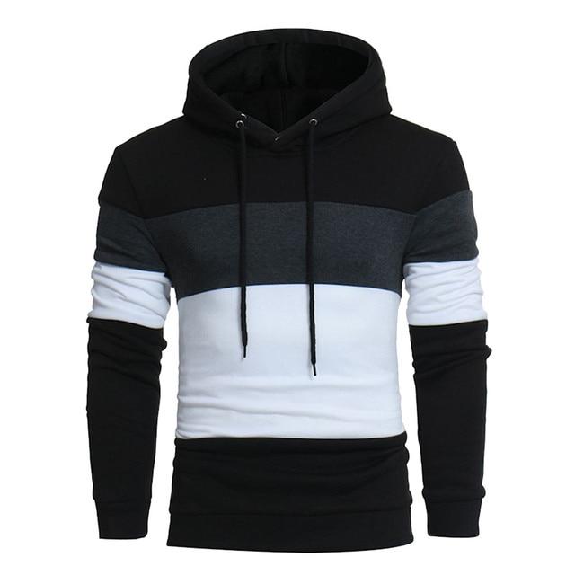 Men's hoodies Casual Warm Long Sleeve Men's sweatshirt Pullover Hooded Male Sweatshirt Top Outwear streetwear