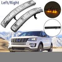 1pc/2pcs Left/Right Rear Side Mirror Turn Signal Blinker Lamp For Ford Explorer 2011 2012 2013 2014 2015 2016 2017 2018 2019