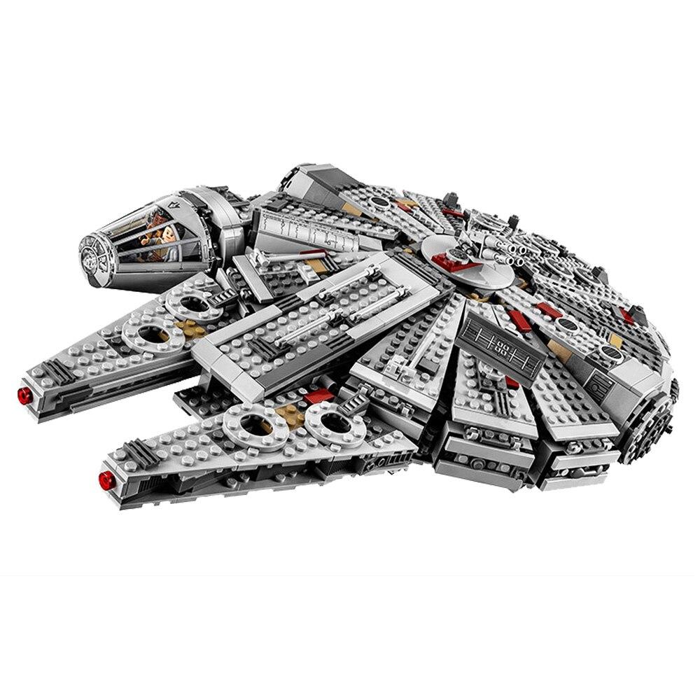 Force éveille des millénaires jouets fauconing Compatible legoery Star Warsery 75105 blocs de construction figurines jouets pour enfants cadeau