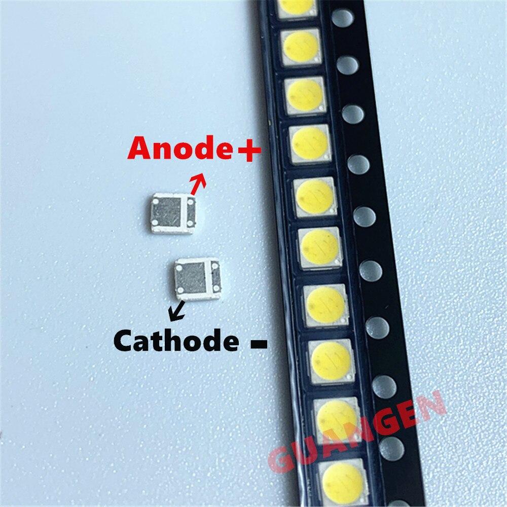 200PCS/LOT Original LED Backlight High Power LED 1.8W 3030 6V Cool White 150-187LM PT30W45 V1 TV Application