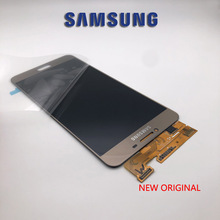 Pantalla LCD ORIGINAL de 5,7 pulgadas, montaje completo para Samsung Galaxy c7, C7000, Panel táctil, cristal digitalizador