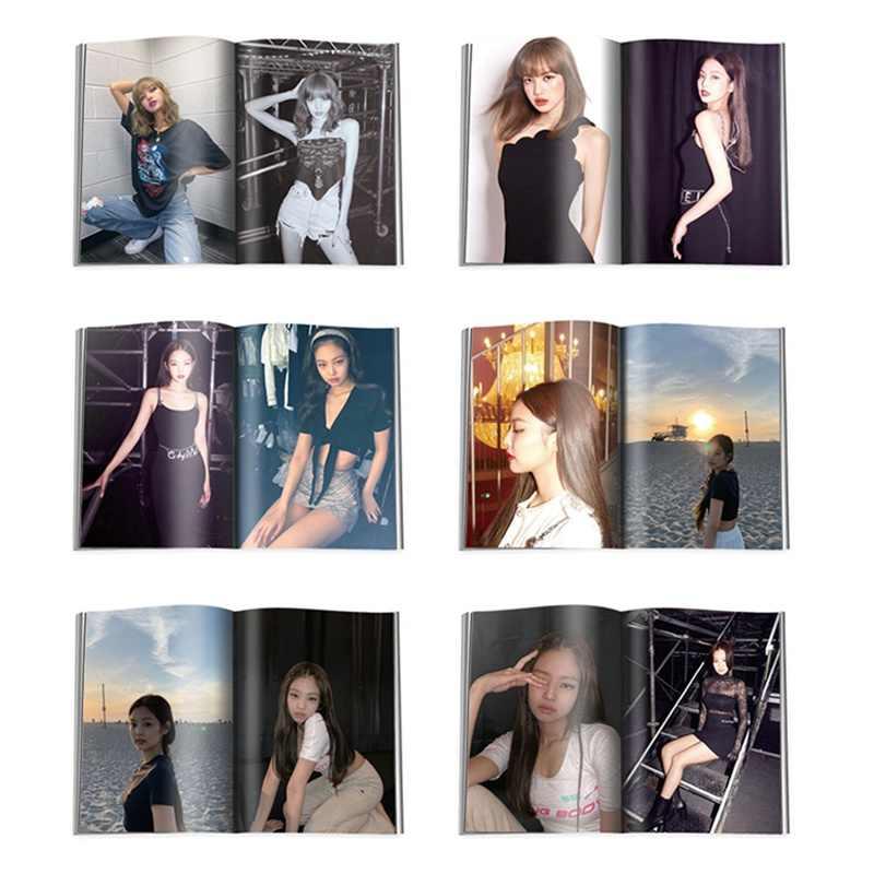 KPOP BLACKPINK بنات قتل هذا الحب 2019 جديد ألبوم صور بطاقة بطاقات بلاستيكية الذاتي صنع ألبوم صور بطاقة صور