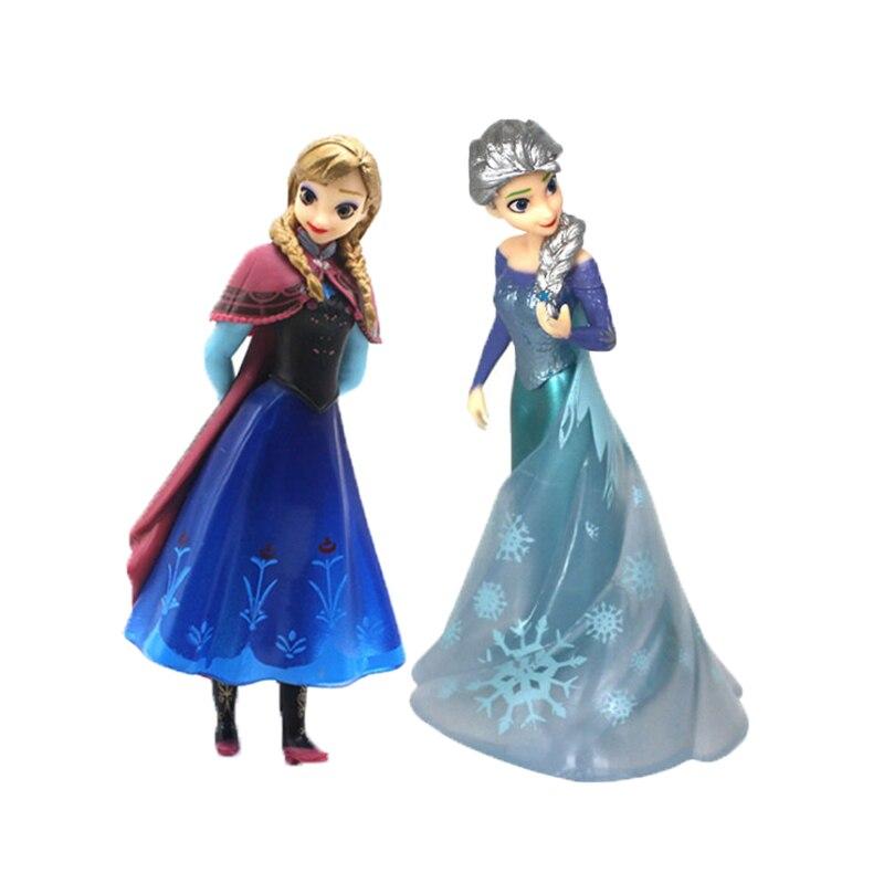 15cm Princess Elsa Doll Anna Children Girls Toys Birthday Christmas Gifts For Kids Sharon Dolls