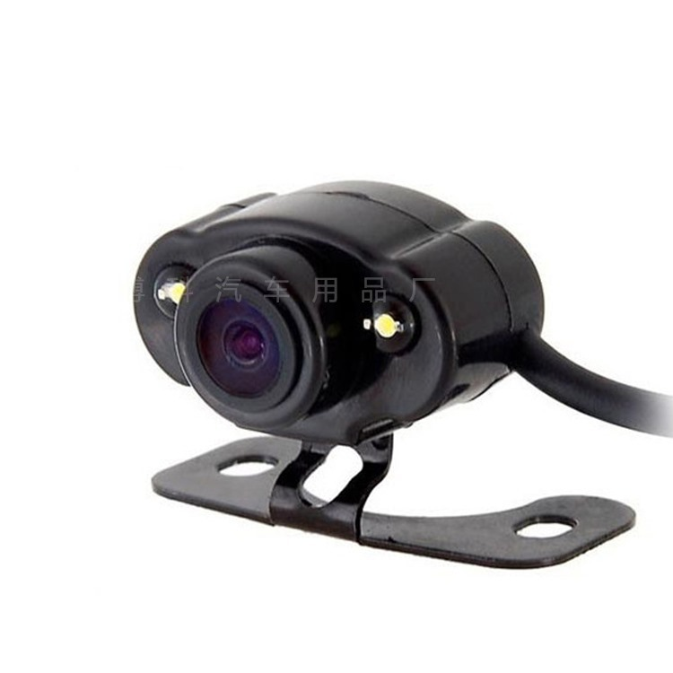 Automobile Camera Universal Frog Eye Mini Mounted CCD High-definition Night Vision Wide-angle after Visual on Board Camera