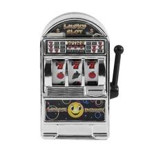Decompression Fashion Handheld Money Box Kids Toy Fruit Funny Entertaining Game Non-toxic Mini Slot Machine Desktop Playing